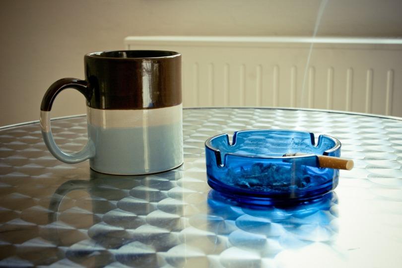 Coffee and smoke break